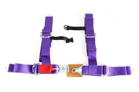 "Pasy sportowe 4p 2"" Purple - DTM - GRUBYGARAGE - Sklep Tuningowy"